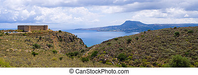 Old Koulos fortess, Crete, Greece - Old Koulos fortess near ...