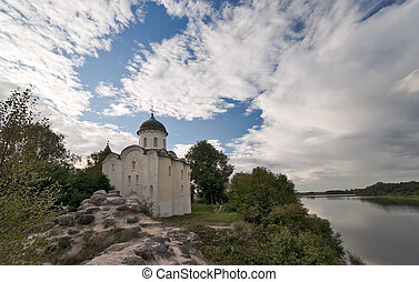 Old Ladoga ancient Orthodox church