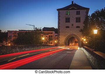 Old Lahn Bridge in Limburg