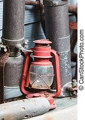 Old lamp, Hurricane lamp - Old lamp, Hurricane lamp/storm...