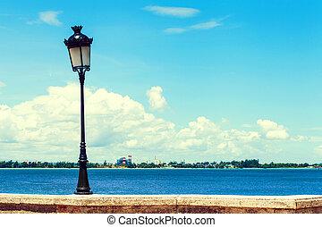 Old Lamp in San Juan, Puerto Rico