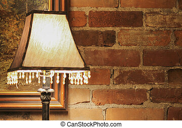 old lamp in the house