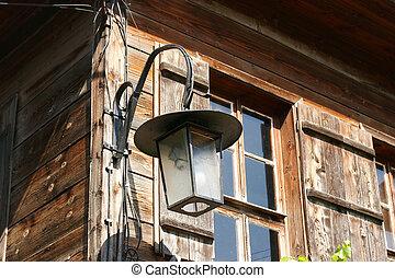 old lantern in Old Nessebar