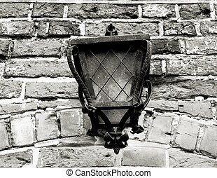 old lantern - shot close to Niedzica castle, Poland