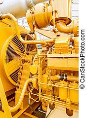 Old Large Engine