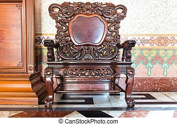 Antique Chinese Rosewood Furniture Living Room Furnished