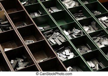 old letterpress
