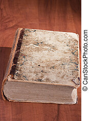 Old library book