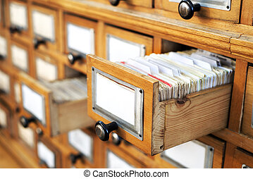 old library catalog