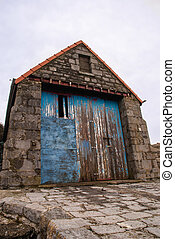 Old lifeboat station, Moelfre, Anglesey which dates from...