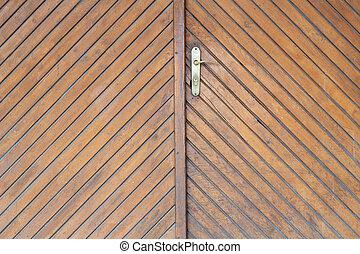 Old light brown door texture