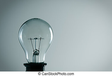 Old light bulb. Idea concept