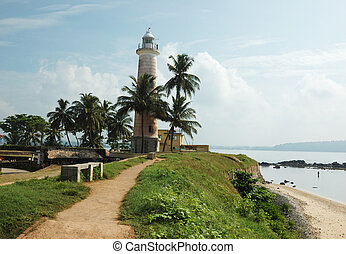 Old lighthouse in Galle,Ceylon - Galle is the best example...