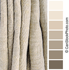old linen ancient fabric color chart selection complimentary