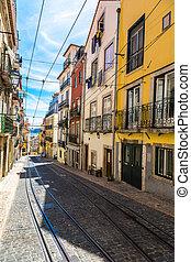 Old Lisbon street