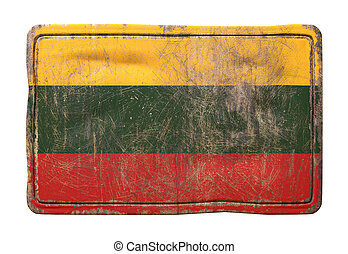 Old Lithuanian flag