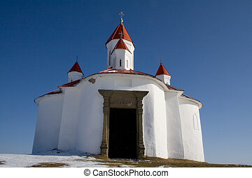old little chapel - old little christian white chapel