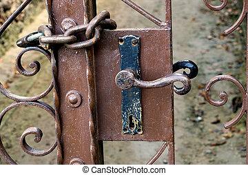 locked gate