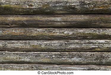 old log background