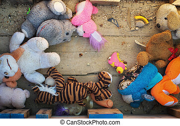 Old lose toys