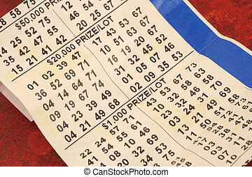 old lottery ticket