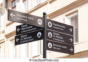 Old Lviv landmarks
