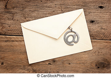 old mailing envelope and sign the e-mail