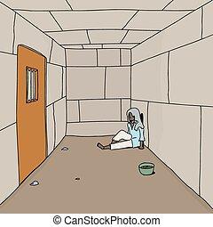 Old Man in Prison