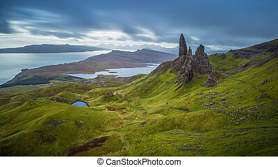 Old man of Storr, Scottish highland