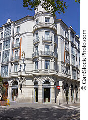 old manor house in the city of Valladolid, Spain