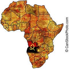 old map angola