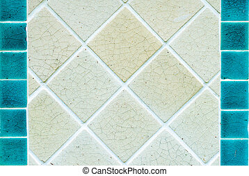 old marble tiled floor texture background