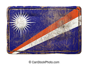 Old Marshall Islands flag