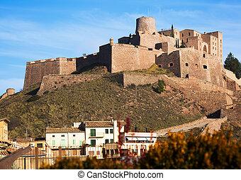 old medieval castle. Castle of Cardona. Catalonia, Spain