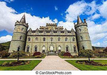 Medieval castle in Scotland
