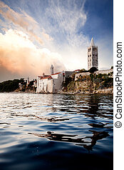 Old Medieval Town - An old medieval town on the island of ...