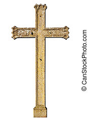 Old metal cross