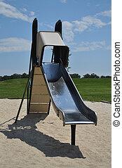 Old Metal Slide