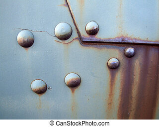 Old metal surface - Grunge abstract industrial background...