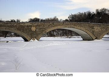 Old Mill Bridge in Toronto