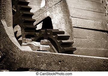 Old mill gears