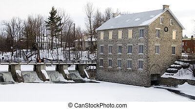 Old Mill - Watson\\\'s Mill in Manotick, Ontario, Canada