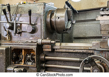 Old milling machine