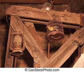 Old mine shaft