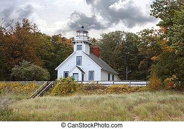 Mission Point Lighthouse - Old Mission Point Lighthouse...