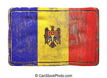 Old Moldova flag