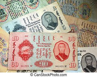 Old money of Mongolia