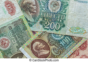 Old money of the former Soviet Union