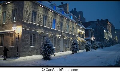 Old Montreal Jacques Cartier place