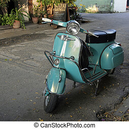 moped - old moped